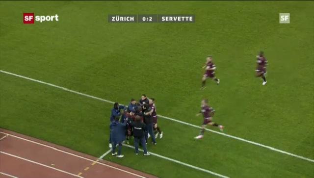 SL: Der schwache Auftritt des FCZ im Heimspiel gegen Servette (Beitrag «sportaktuell» vom 24. November 2012)
