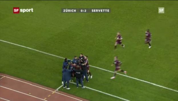 Video «SL: Der schwache Auftritt des FCZ im Heimspiel gegen Servette (Beitrag «sportaktuell» vom 24. November 2012)» abspielen