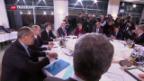 Video «EU diskutiert über Verschärfung der Russland-Sanktionen» abspielen