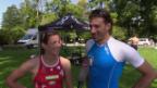 Video «Nicola Spirig coacht Fabian Cancellara» abspielen