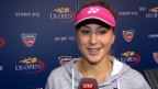 Video «Tennis: US Open, Interview mit Belinda Bencic» abspielen