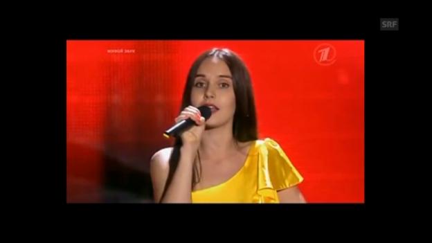 Video «Russin jodelt «Mi Vatter isch en Appezeller»» abspielen