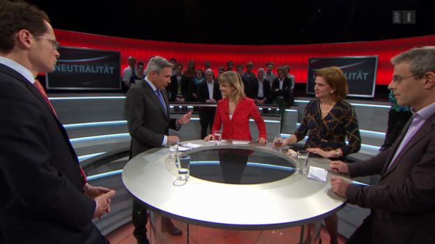 Video «Arena: Wieviel Spielraum hat die Schweizer Neutralität?» abspielen