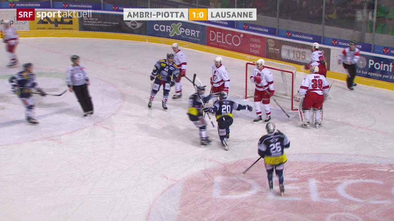 Eishockey: NLA, Biel - Genf