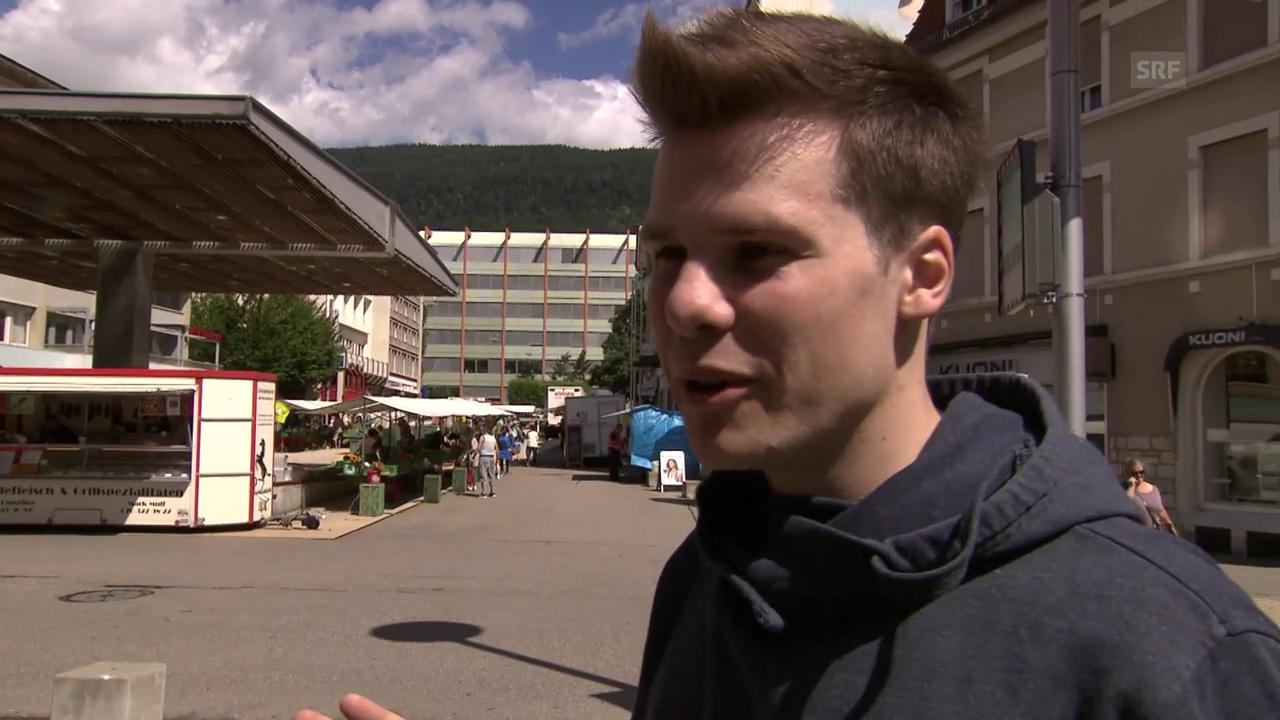 Elias Meier kandidiert fürs Stadtpräsidium