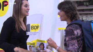 Video «FOKUS: Politiker im Wahlkampf-Schlussspurt» abspielen