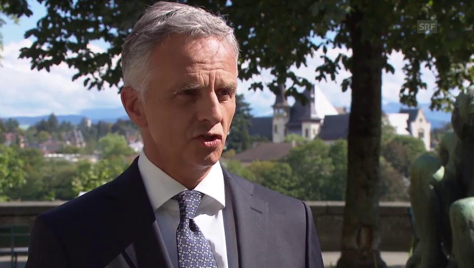 Burkhalter kündigt Gespräche zum Syrien-Konflikt an