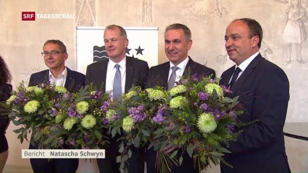 Video «Aargauer Regierung noch nicht komplett» abspielen