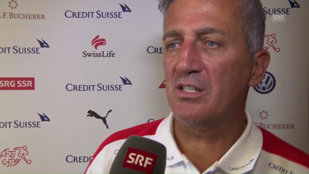 Video «Petkovic: Nach der EM ist vor der WM-Quali» abspielen