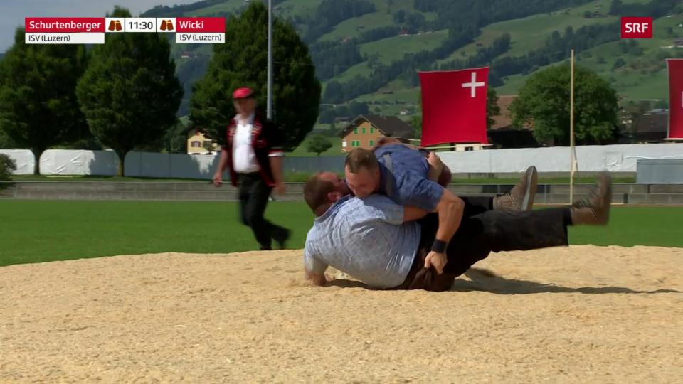 Wicki metta Schurtenberger suenter 31 secundas sin il dies