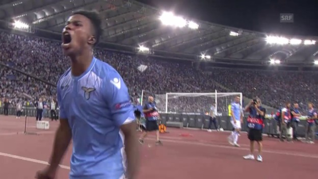 Video «Highlights Lazio Rom - Leverkusen» abspielen