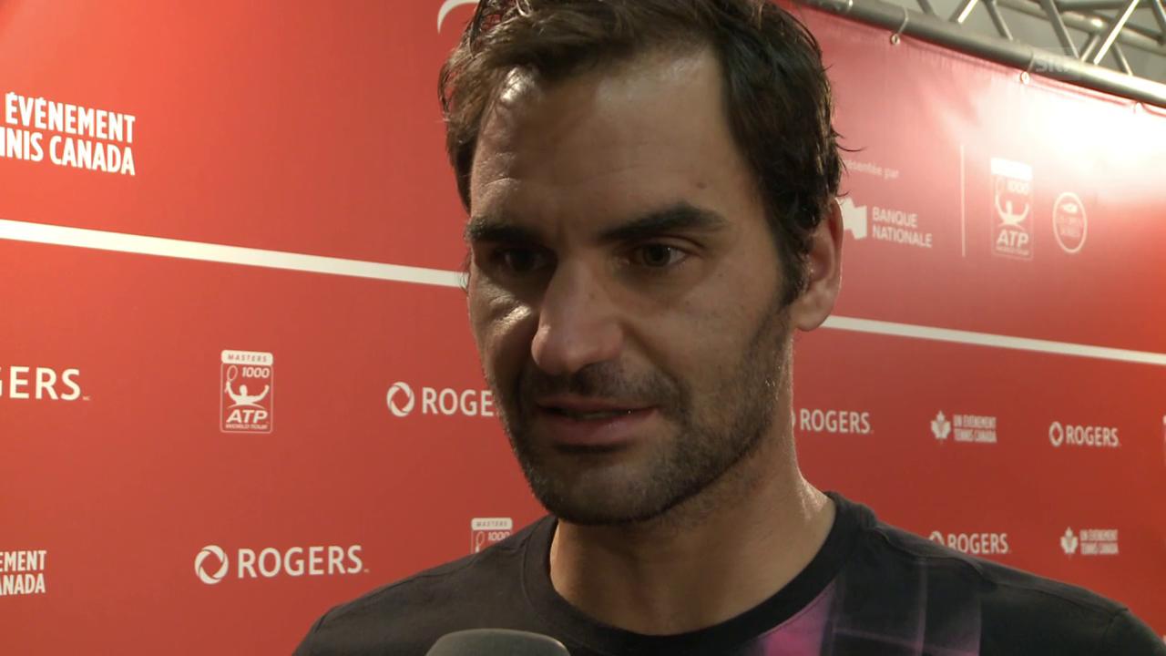 Roger Federer davart ses problems dal dies suenter il final da Montreal