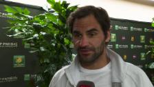 Link öffnet eine Lightbox. Video Federer: «So zu verlieren tut extrem weh im Moment» abspielen