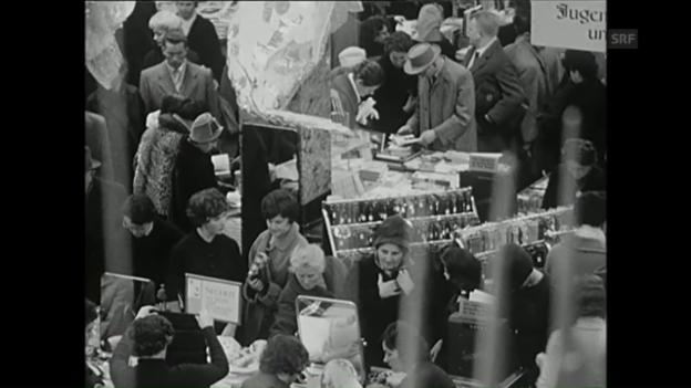 Video «Weihnachtsrummel (Freitagsmagazin, 23.12.1960)» abspielen
