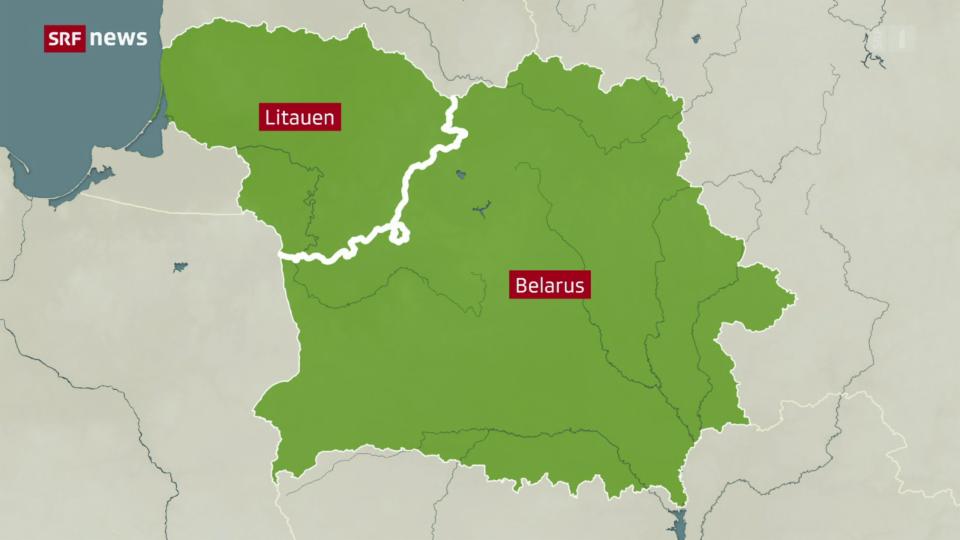 Aus dem Archiv: Lukaschenko schickt Migranten nach Litauen