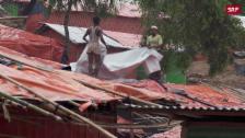 Link öffnet eine Lightbox. Video Rohingya-Camp: Vorbereitung auf den Monsun abspielen