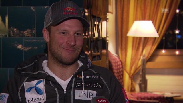 Ski Alpin: Interview mit Aksel Svindal