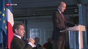 Video «Die französischen Konservativen suchen Präsidentschaftskandidaten» abspielen