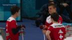 Video «Zwei Niederlagen für Schweizer Curler» abspielen