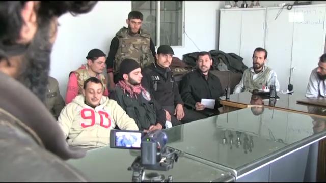 «Making-of» eines Propagandavideos der syrischen Rebellen (Kurt Pelda)
