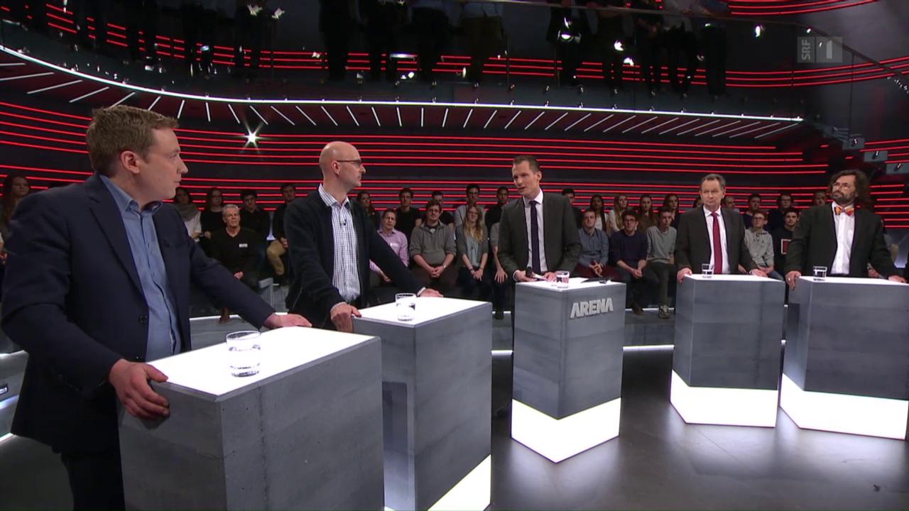«Arena»: Die MEI-Initiative oder Aktenzeichen EU ungelöst
