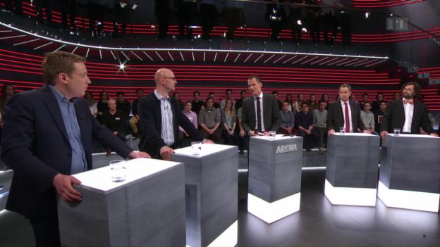 Video ««Arena»: Die MEI-Initiative oder Aktenzeichen EU ungelöst» abspielen