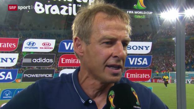 Video «FIFA WM 2014: Klinsmann und Appiah im Interview» abspielen