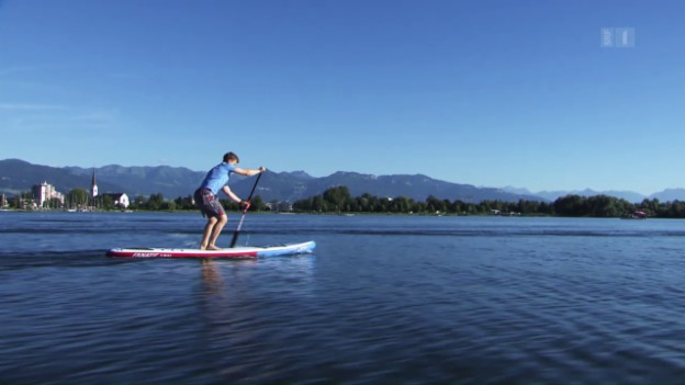 Video «Standup Paddeling: Was bringt der Trendsport?» abspielen