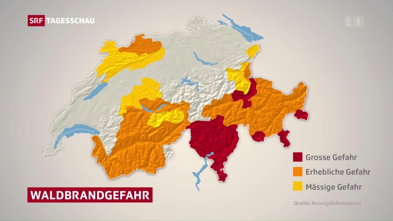 Waldbrandgefahr steigt weiter
