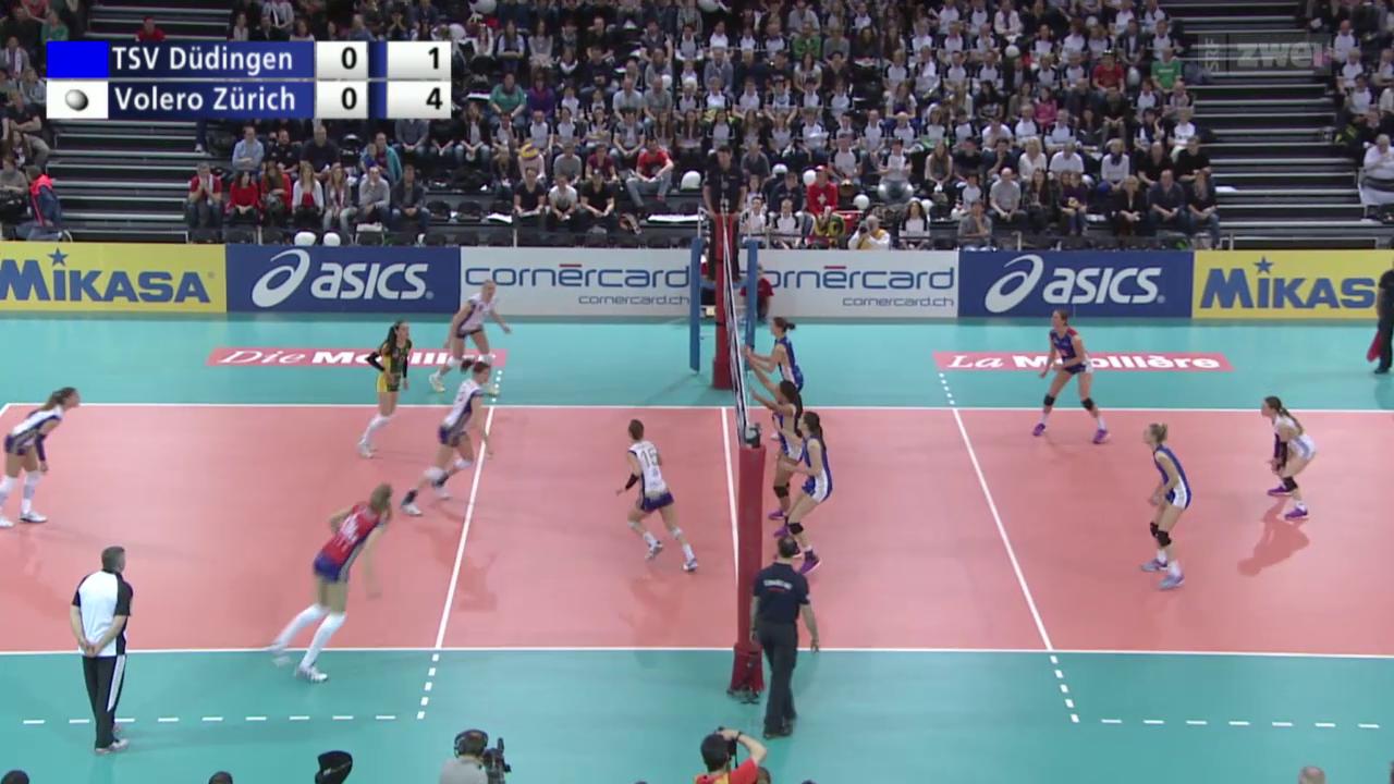 Volleyball: Schweizer Cupfinals Frauen & Männer