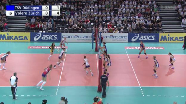 Video «Volleyball: Schweizer Cupfinals Frauen & Männer» abspielen