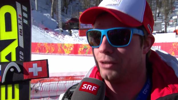 Video «Ski: Beat Feuz im Interview (sotschi direkt, 08.02.2014)» abspielen