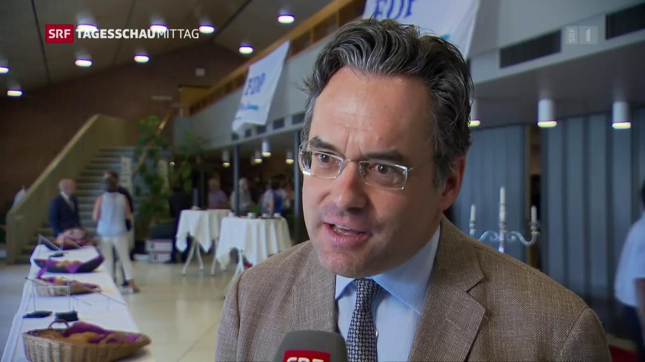 Olivier Feller (FDP/VD) bringt Romandes ins Spiel