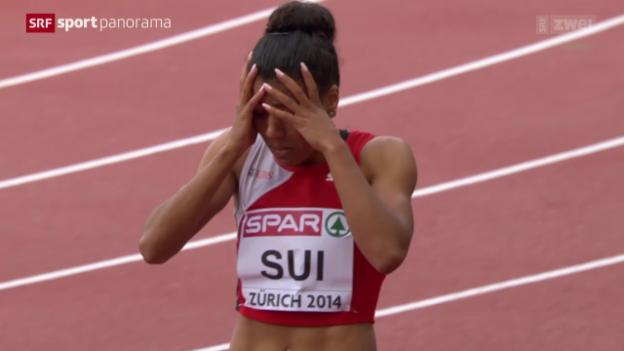 Video «Leichtathletik: Staffel-Finals über 4x100 m» abspielen
