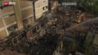 Video «Festnahme nach Feuer in Horn TG» abspielen