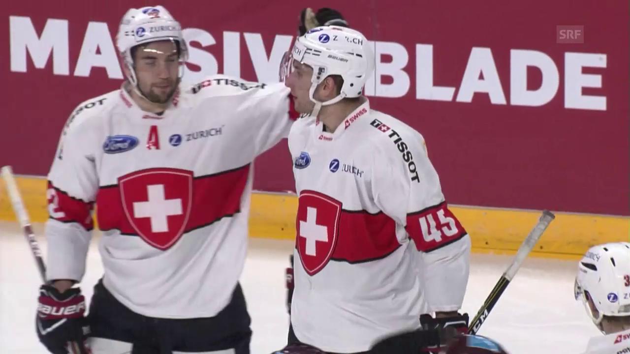 Schweiz doppelt in Lettland nach