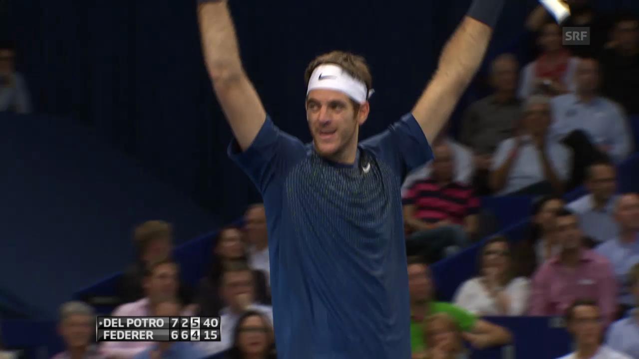 Highlights Federer-Del Potro («sportlive»)
