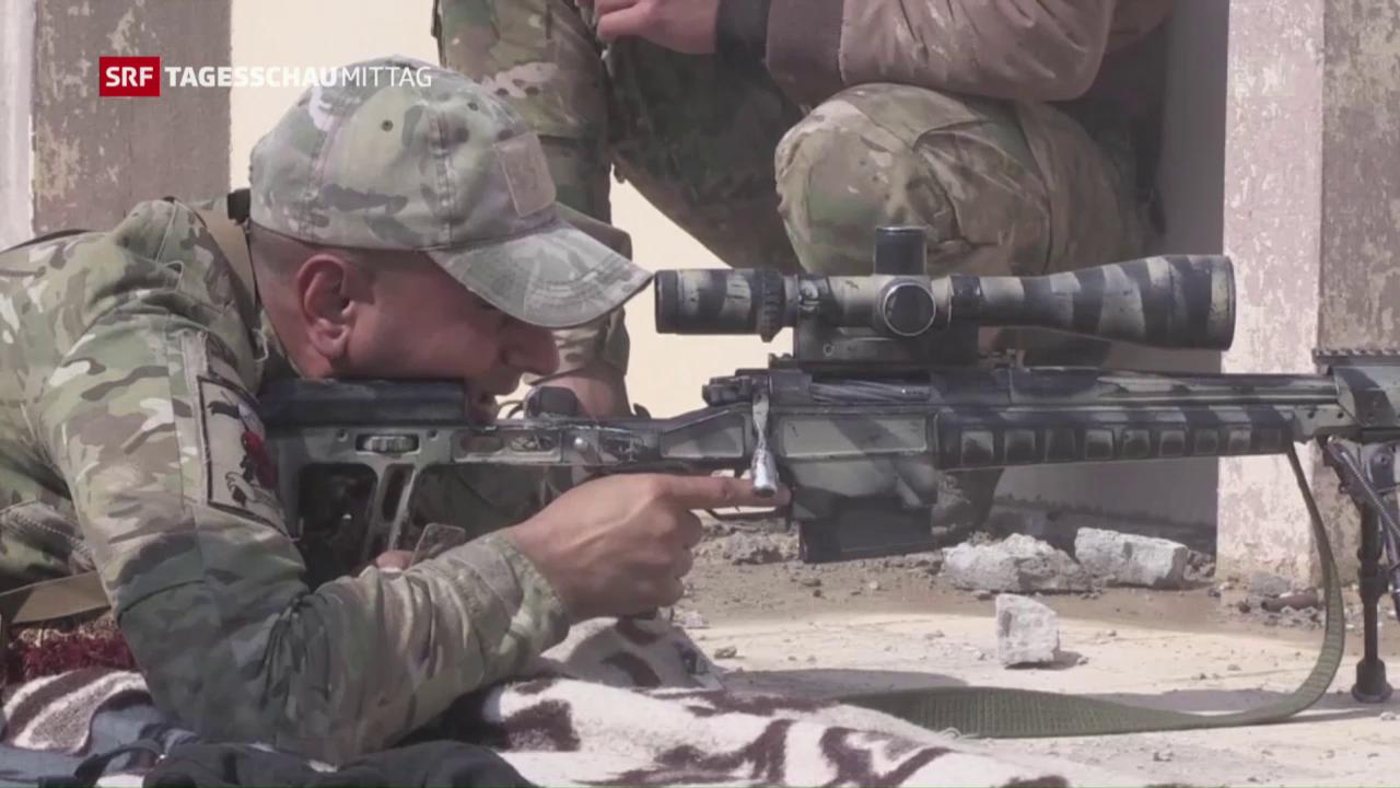 Irakische Armee kommt ihrem Ziel näher
