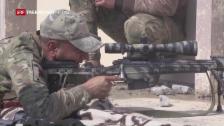 Video «Irakische Armee kommt ihrem Ziel näher» abspielen
