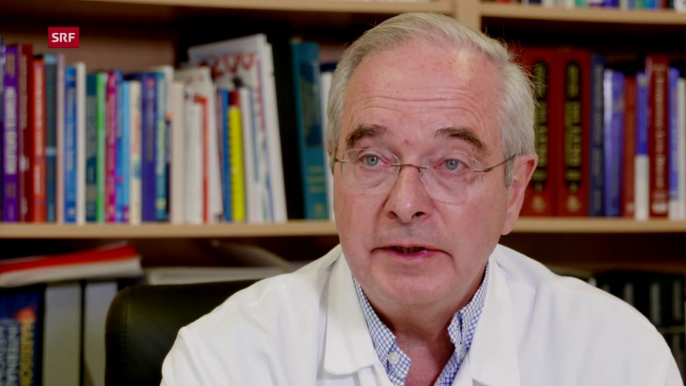 Laurent Nicod, Präsident der Schweizerischen Gesellschaft für Pneumologie: «Wir werden alle Kollegen bitten, allfällige Fälle der Vergiftungshotline Toxinfo zu melden.»