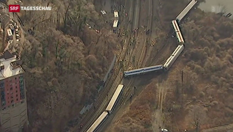 Tote bei Zugunglück in New York