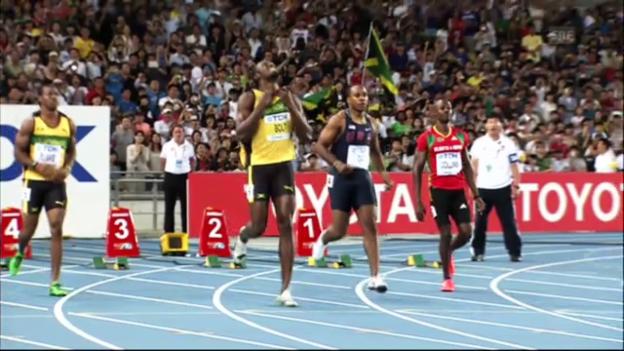 Video «Leichtathletik-WM: Usain Bolt und die abwesenden Sprint-Stars» abspielen
