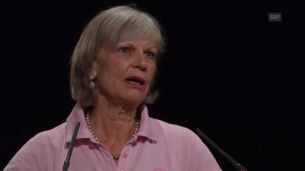 Video «Magrit Zopfi erzählt, wie sie von Christoph Blocher angestellt wurde» abspielen