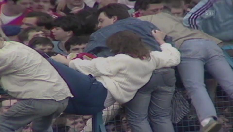 Tragödie im Hillsborough-Stadion (Sportpanorama, 15.04.1989)