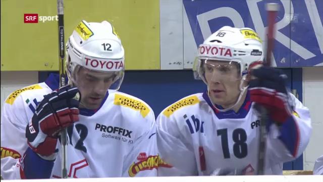 Eishockey: Davos - Kloten («sportaktuell»)
