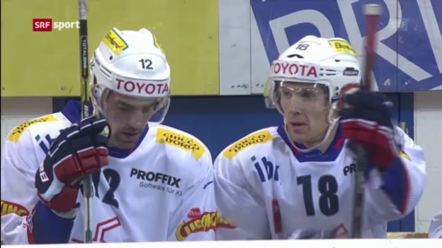 Video «Eishockey: Davos - Kloten («sportaktuell»)» abspielen