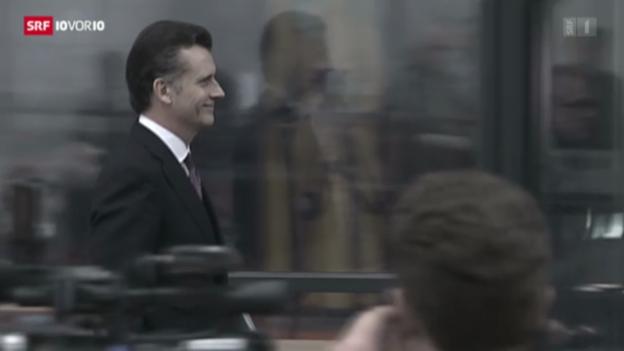 Video «Fall Hildebrand: GPK liest Bundesrat die Leviten» abspielen