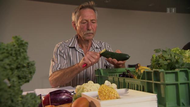 Video «Woche für Woche faule Ware – nicht alle Gemüseabos sind frisch» abspielen