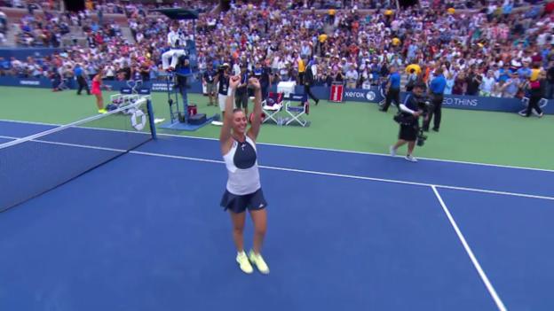 Video «Tennis: US Open, Final, Highlights Pennetta-Vinci» abspielen