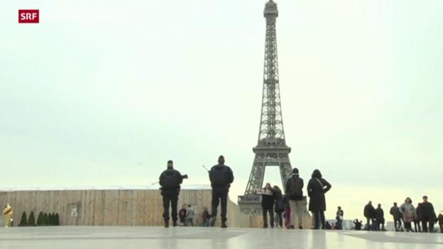 Video «Ausnahmezustand soll in Frankreichs Verfassung» abspielen